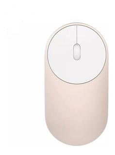 Mouse Inalambrico Xiaomi Mi Portable Dorado Aluminio
