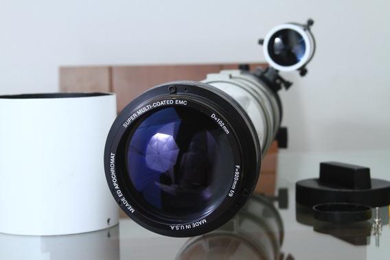 Telescópio Apocromático Meade Emc 102mm F9 Multi Coated