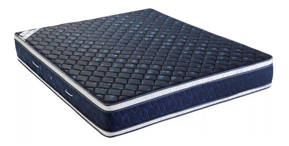 Colchon Kavanag Elegance Blue 190x140 Pillow Alta Densidad