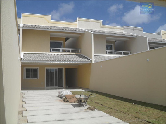Sobrado Residencial À Venda, José De Alencar, Fortaleza - So0021. - Codigo: Ca0074 - Ca0074
