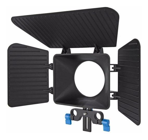 Matte Box M1 Parasol Profissional Para Follow Focus