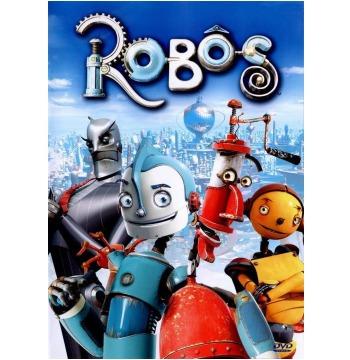 Robôs Dvd Original Novo** - Estojo Amaray Vermelho (raro)