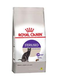 Ração Royal Canin Sterilised - Para Gatos Castrados - 400g.