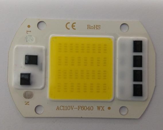 2 Chips Led 50w Sem Reator 110v Branco Frio (kit 2 Leds)