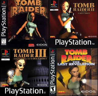 tomb raider ii ps1 cover