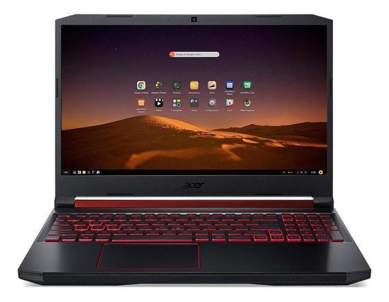 Notebook Gamer Acer An515-54-76xc Ci7 16gb 1tb 256gb Gtx1650