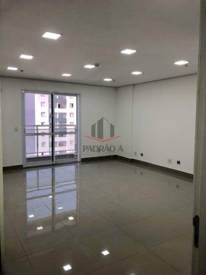 Sala Comercial Em Condomínio Para Locação No Bairro Vila Regente Feijó, 01 Vaga, 35,00 M - 1513