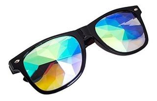 Caleidoscopio Gafas Arco Iris Rave Prisma Difracción Crista