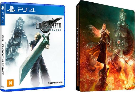 Jogo Final Fantasy Vii Remake (steelbook Edition) - Ps4