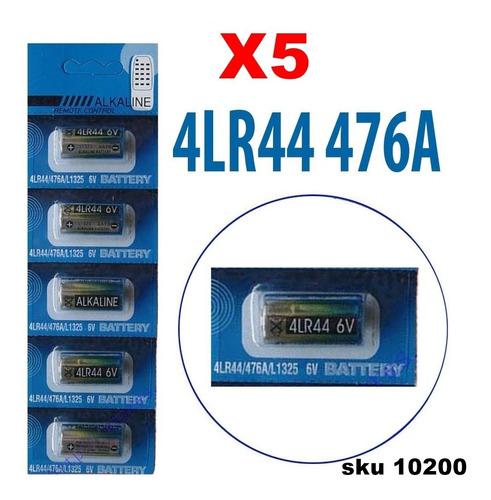 Pila Bateria 6voltios 4lr44 Alkaline Pack De 5 W01