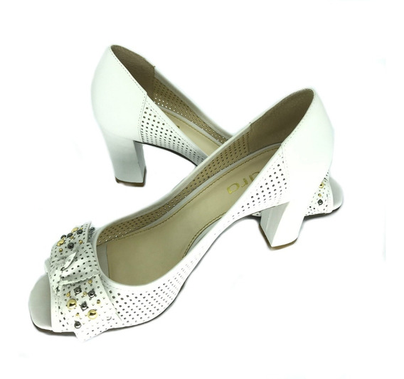 Sapato Esdra Flash 3 043 Vitello Branco Neve 38