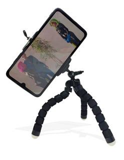 Mini Tripé Suporte Celular Ajustável Universal Flexível 18cm