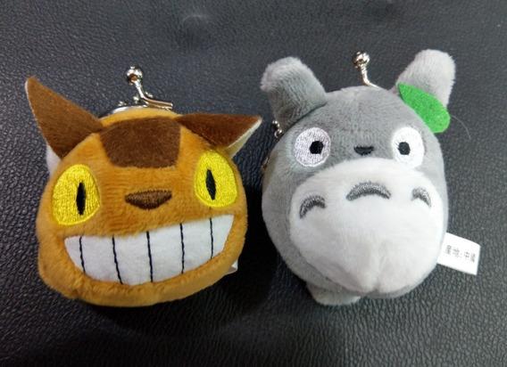 Par De Monederos Totoro & Gatobus Estudios Ghibli