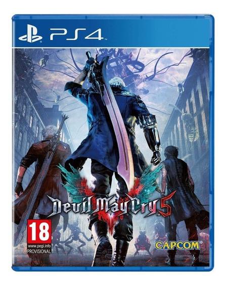 Devil May Cry 5 Ps4 Play4 Playstation 4 Novo Lacrado