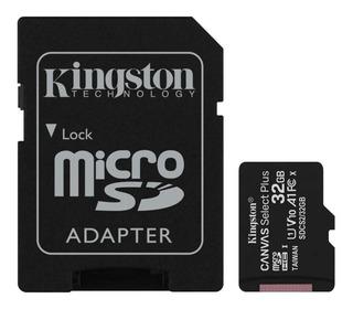 Memoria Microsd 32gb Kingston Clase 10 Canvas Select Plus