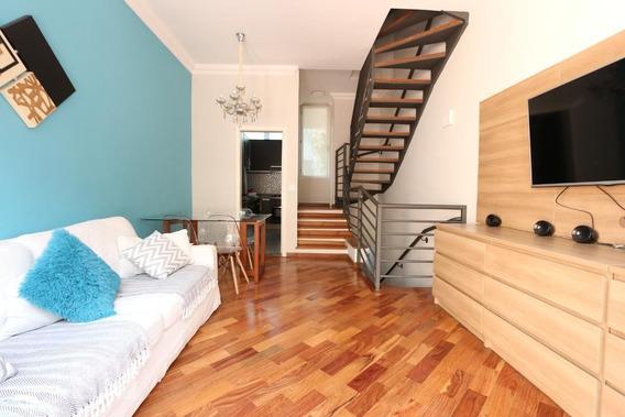Casa Em Condomínio Mobiliada Com 2 Dormitórios E 2 Garagens - Id: 892971129 - 271129