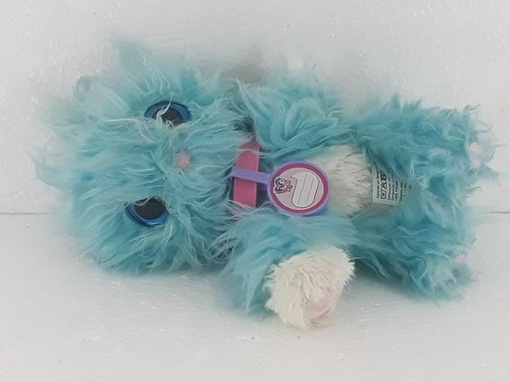 Pelúcia Fur Balls Pets Adotados Azul - Fun Semi-nova