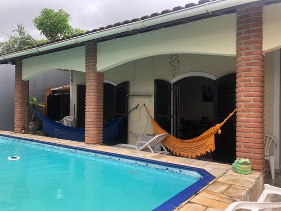 Casa Com 2 Quartos E Piscina No Litoral - Itanhaém/sp 6472ps