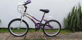 Bicicleta Olimpia Niña Rodado 20 Muy Poco Uso. Impecable