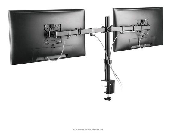 Suporte Articulado Para 2 Monitores 13-32 Pol. Vesa 100x100
