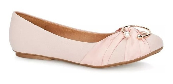 Ballerina Perfecta Mujer Flat Accesorio Perla Pink 2598802