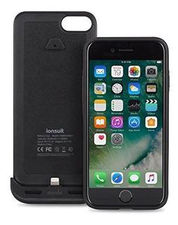 Funda De Bateria Moshi Ionsuit Para iPhone 87 Negra