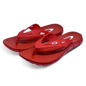 Chinelo Oakley Operative 2.0 Surf Várias Cores Vermelho
