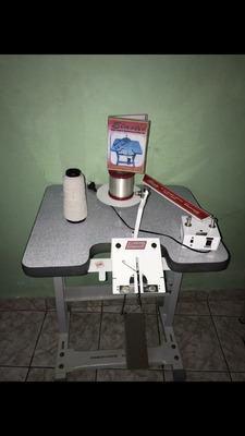 Máquina De Laços Elastic Completa, Usado Bem Poucas Vezes.