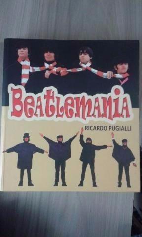 Livro Beatlemania, Ilustrado (em Ótimo Estado)