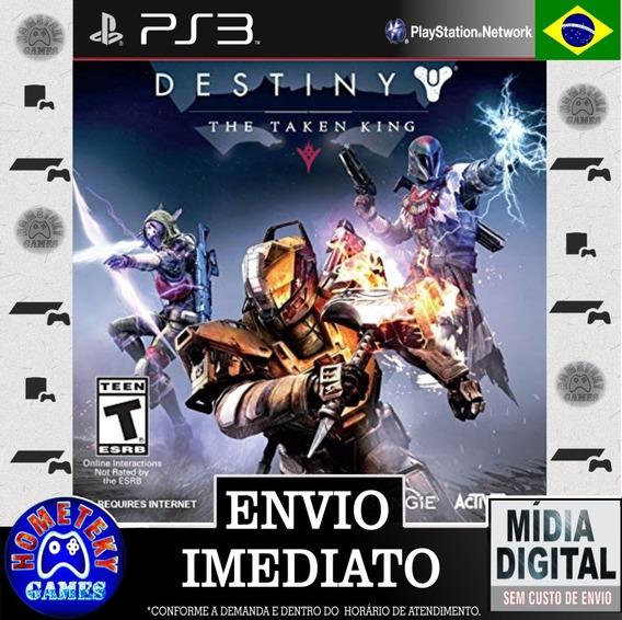 Dlc Destiny Rei Dos Possuídos - Psn Ps3 - Português Br