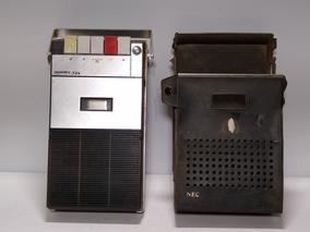 Gravador K7 Nec Rmt 201 E Tape Recorder Funcionando Ler Anun