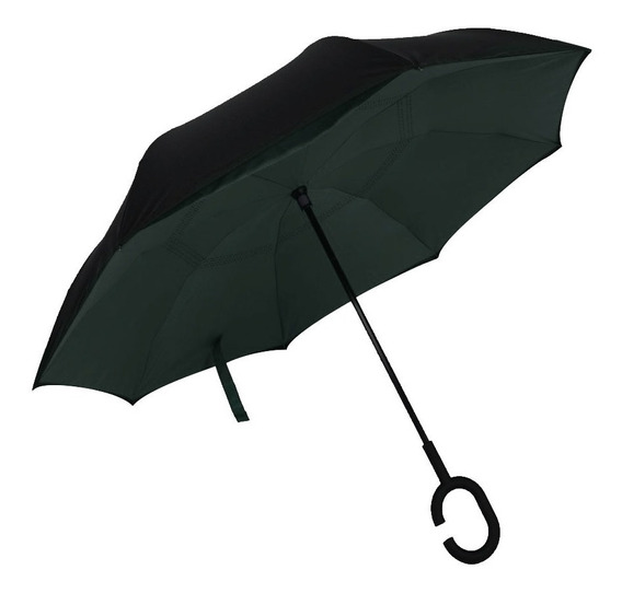 Paraguas Invertido Reversible Original Vrs Col Envío Gratis