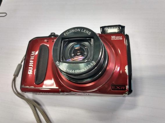 Camera Digital Fujifilm F550exr + 2 Baterias + Carregador