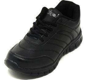 Zapatos Dep. Escolares Yoyo 16367l Negros 24-31 Envío Gratis