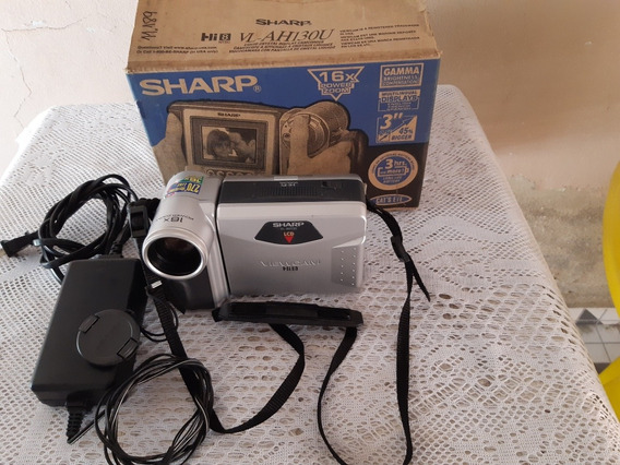 Ótima Filmadora Sharp Vl-ah130u(leia Todo Anúncio)