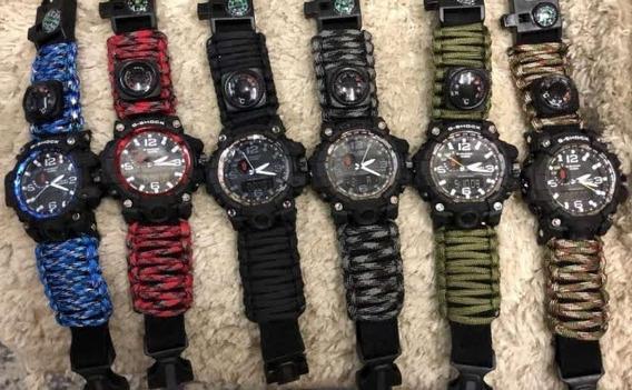 Relógio G-shock Sobrevivência C/ Bussola