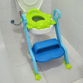 Assento Vaso Troninho Infantil Escada Azul - Multikids Baby