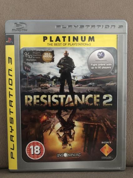 Resistance 2 - Mídia Física - Ps3