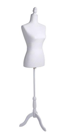 Maniqui Torso Femenino Color Blanco Diseño Ropa
