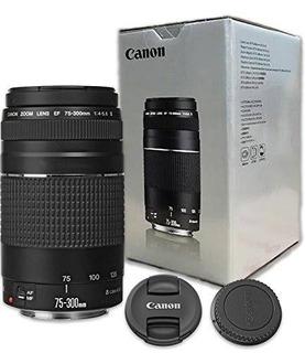 Lente Canon Ef 75-300mm F/45.6 Iii