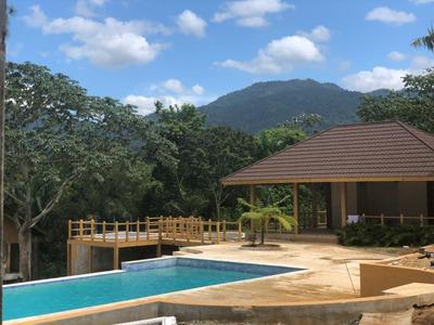 Villa En Jarabacoa De 2 Habitaciones Seguridad 24 Horas