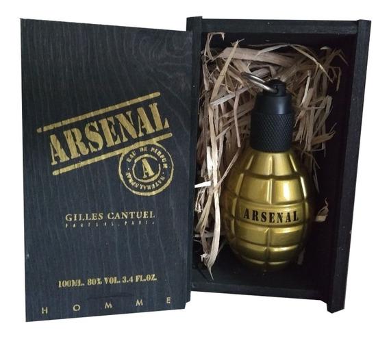 Perfume Arsenal Gold Gilles Cantuel 100ml