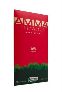 Amma Chocolate 60% Cacau Orgânico E Vegano - 80g