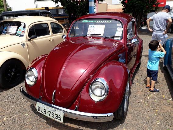Volkswagen Vw Fusca 1200 Ano 1966 Motor 1300cc