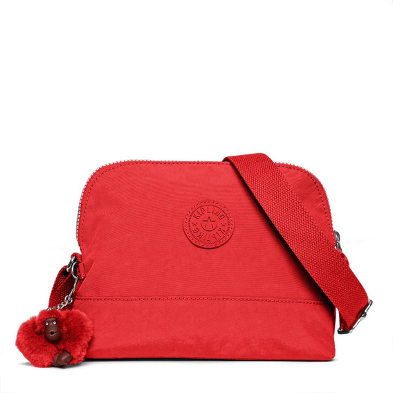 Kipling Bolsa Crossbody Bess Rojo Cherry 100% Original