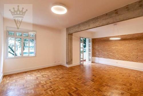 Apartamento Com 3 Dormitórios À Venda, 169 M² Por R$ 1.800.000,00 - Santa Cecília - São Paulo/sp - Ap5104