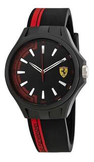Reloj Ferrari Pit Crew Silicona Original Oferta Envio Ya