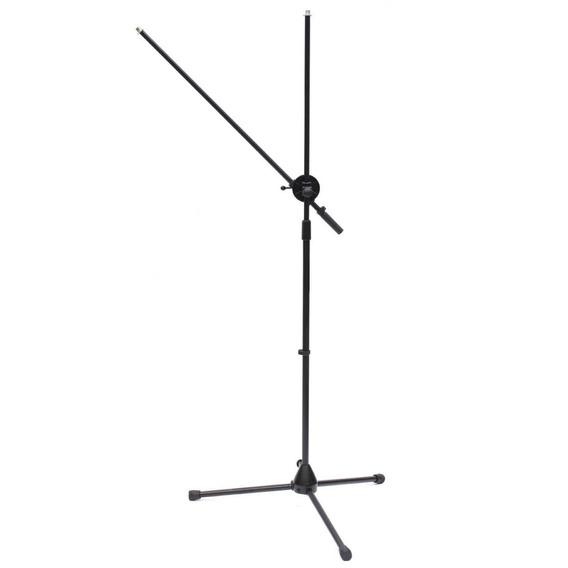 Pedestal Metalico Rigido De Microfono Doble