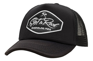 Gorra Surf & Rock - Californiana Black