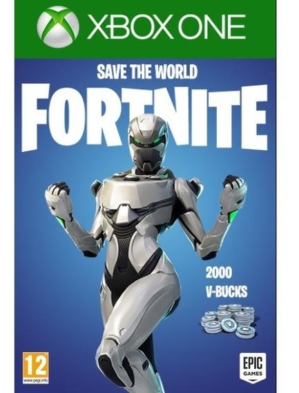 Fortnite + Eon Skin + 2000 V-bucks + Save The World Xbox One